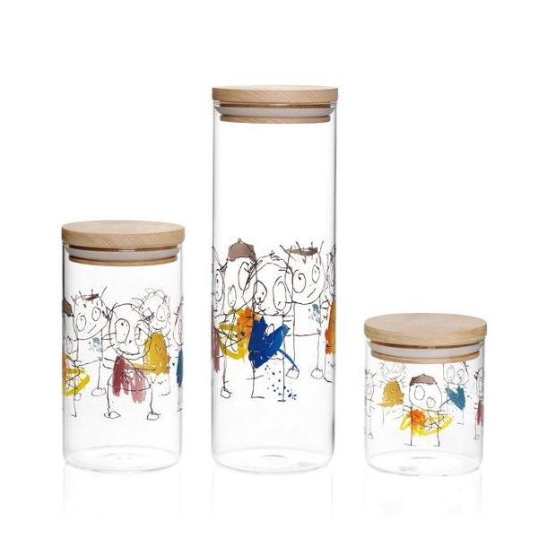 Avanceret Poul Pava, Original Icons, Opbevaringsglas med trælåg SN92