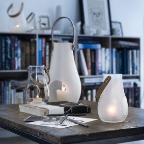 Design with light. Lanterner, stager og krukker