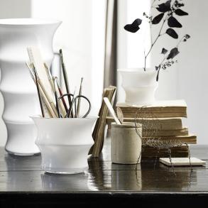 Karen Blixen vaser og urtepotteskjulere