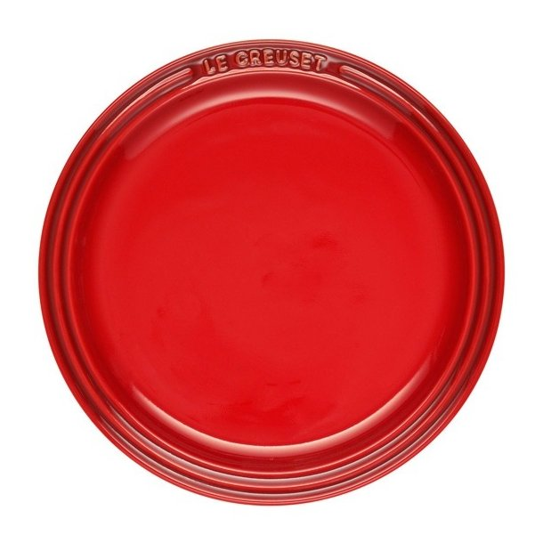 Utestående Le Creuset Rød dyb tallerken UJ-54